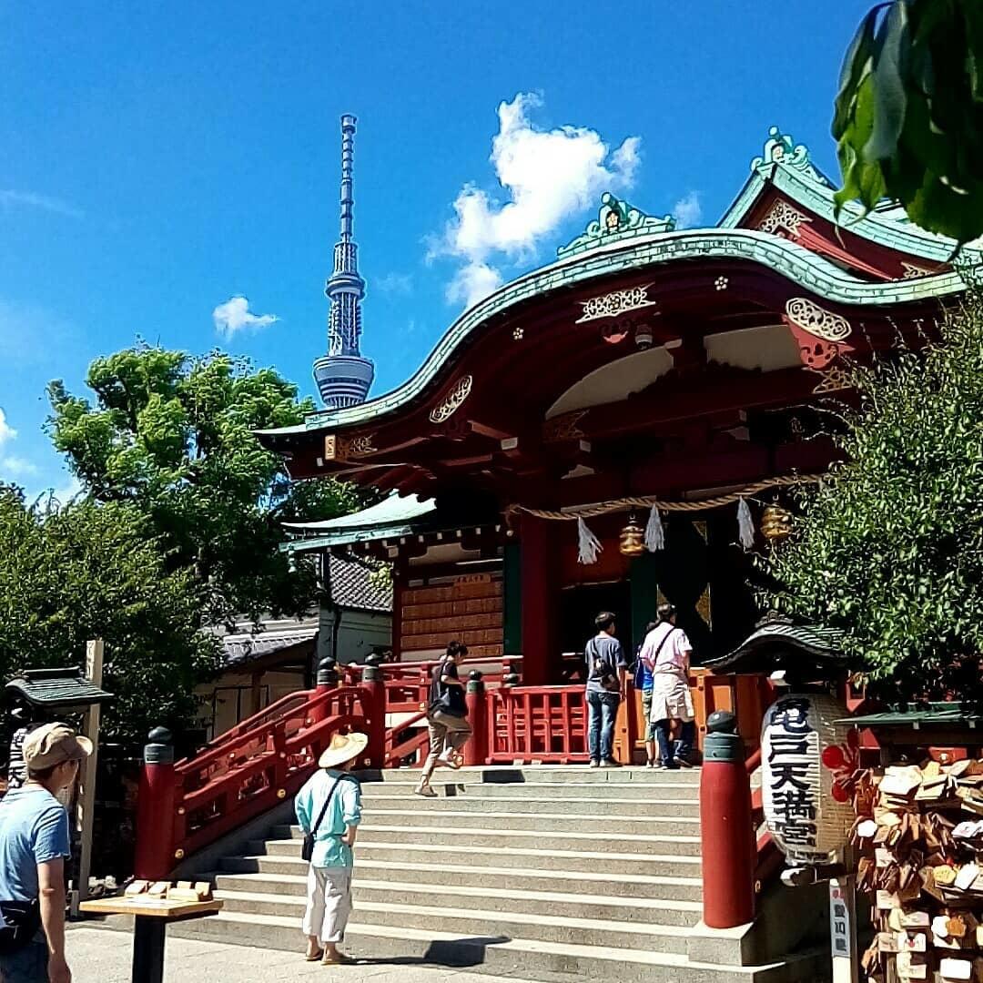 受験に勝つ、学問の神様 | 亀戸天神社