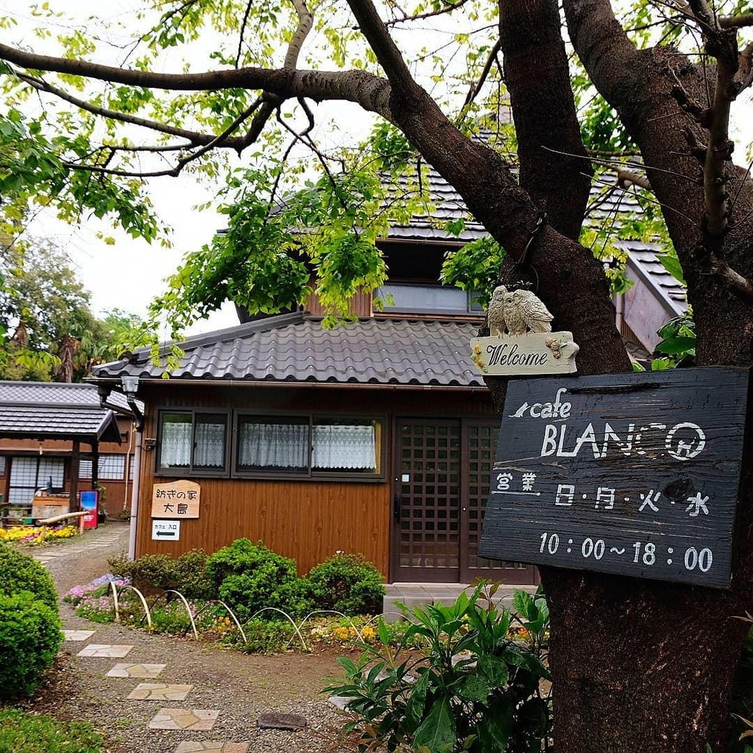 日本家屋でケーキを堪能して | cafe BLANCO