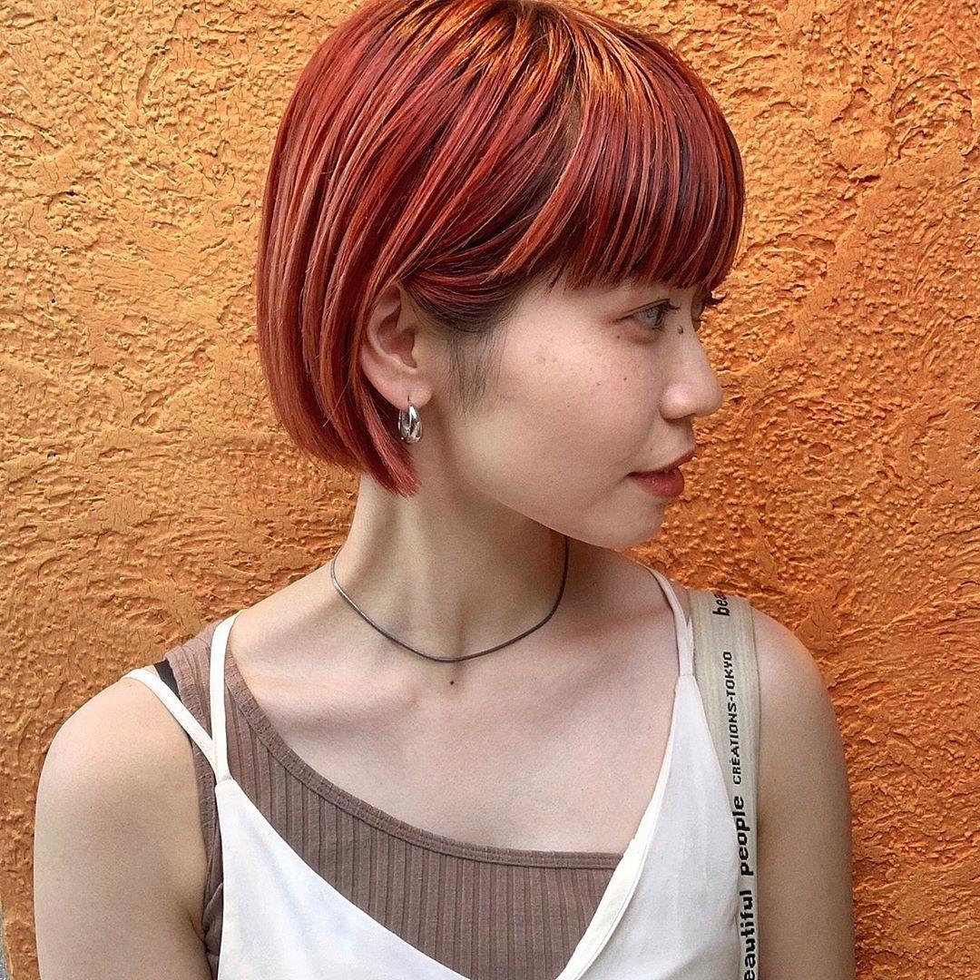 CHECK|オレンジカラーが得意な美容師さん