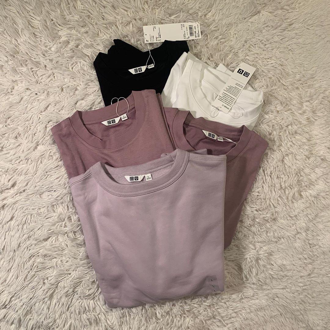 □ワイドフィットスウェットシャツ