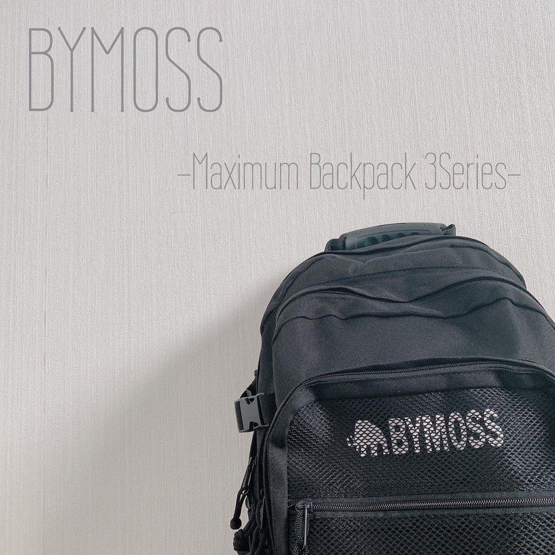 BYMOSS メッシュポケットで個性を出す