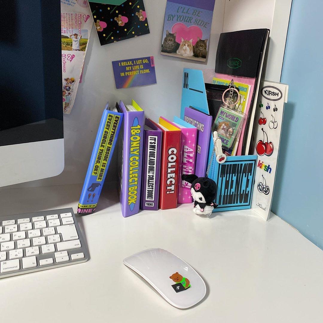 お家用のパソコンはマウスをアレンジ