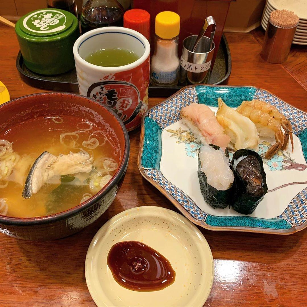 海の幸を頂いて|もりもり寿司