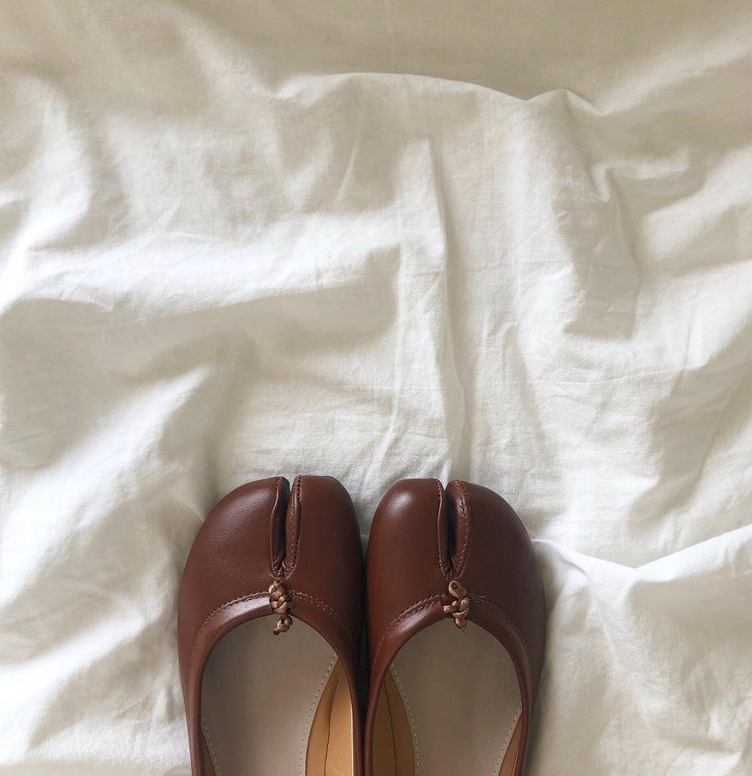 足袋パンプス