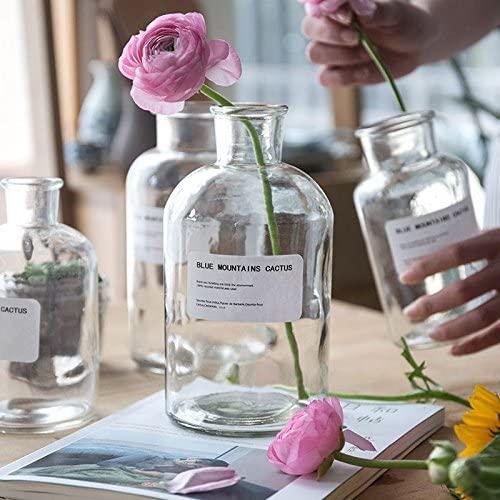 クリアガラス花瓶