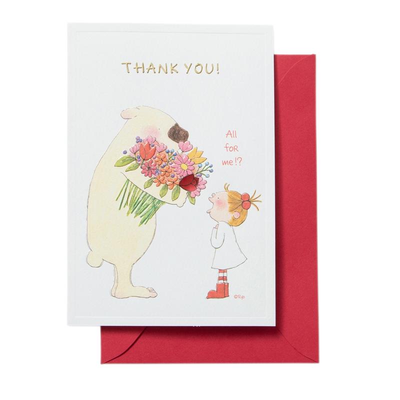 COCOちゃん THANK YOUカード