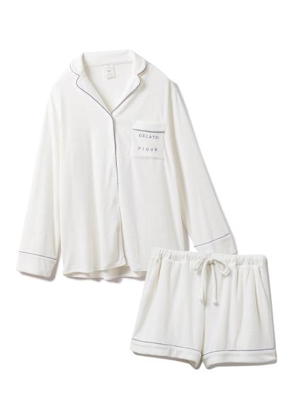 パイルシャツ&ショートパンツSET