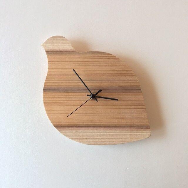 造作材屋の手作り時計キット・雷鳥