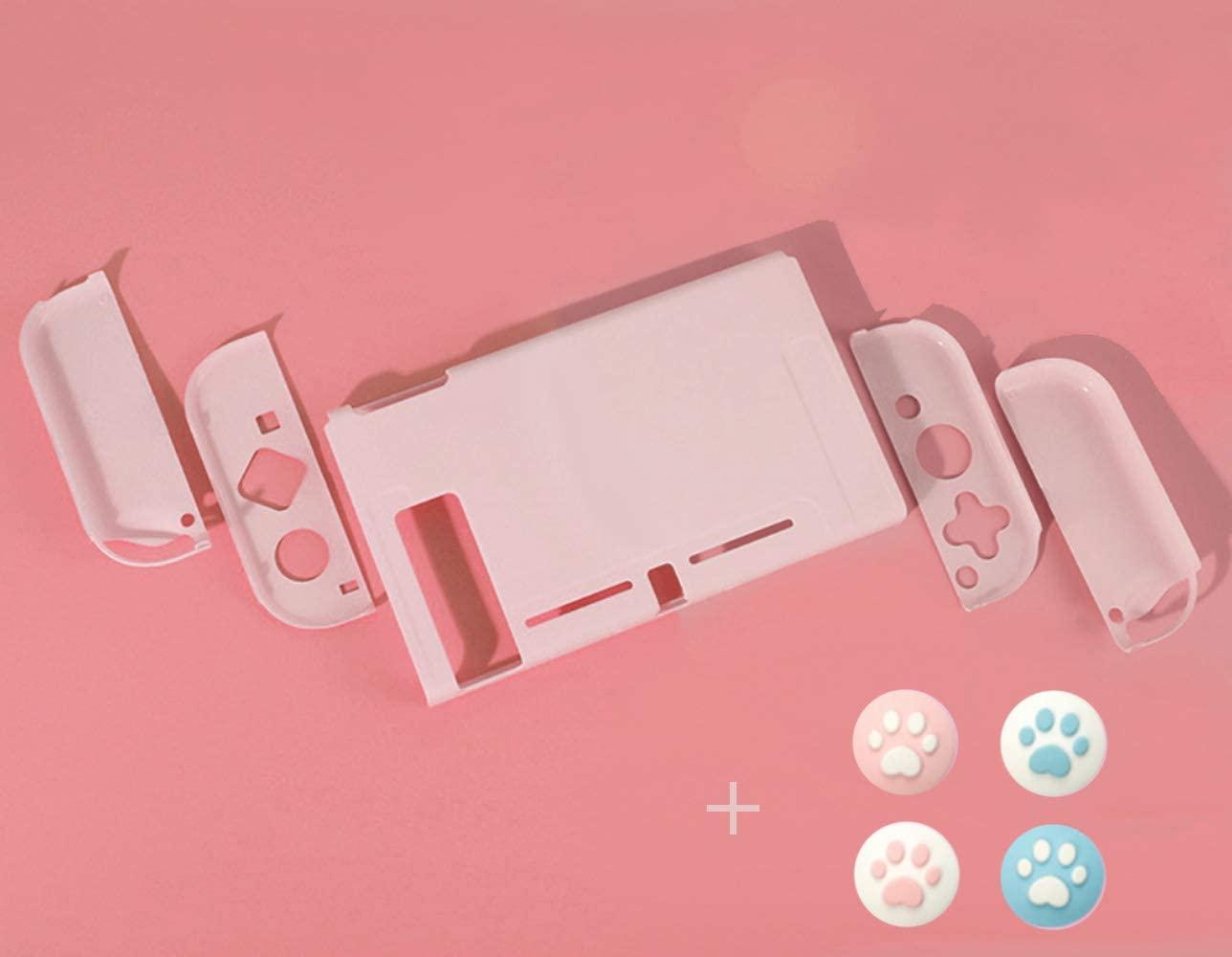 スイッチ ケース 分体式 カバー ピンク