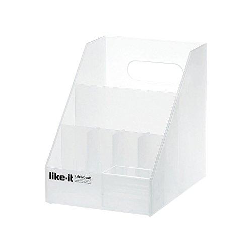 収納ケース オーガナイザーミニ A6(ホワイト)