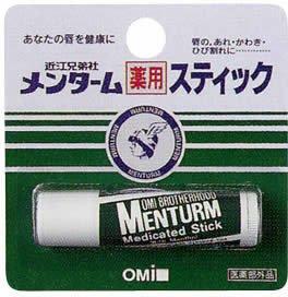 メンターム 薬用スティック レギュラー(医薬部外品)