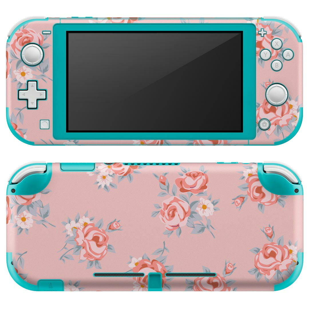 Nintendo Switch Lite 専用 デザインスキンシール 花柄