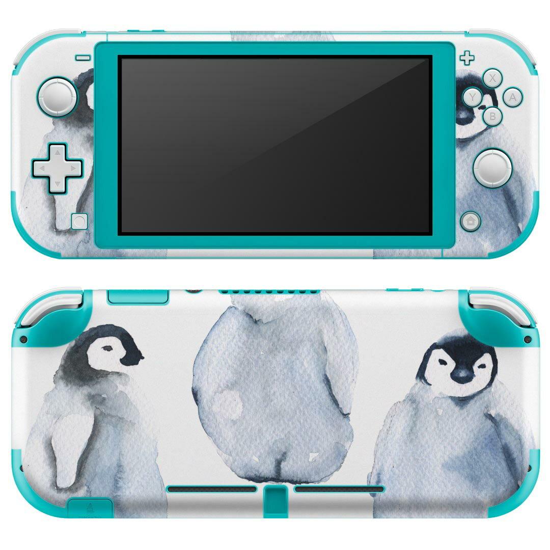 Nintendo Switch Lite 専用 デザインスキンシール ペンギン