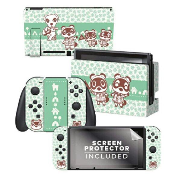 あつまれ どうぶつの森 海外限定品 公式ライセンス品 / Nintendo Switch用 ドックスキン シール