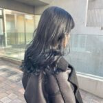 就活・実習・社会人でも可愛いヘアでいたい♡透明感のある#暗染めでツヤっぽKeep