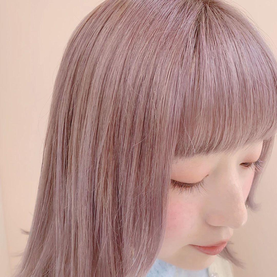髪色の温度から高める春支度。花言葉も背中を押してくれるフラワーカラーで彩りをON