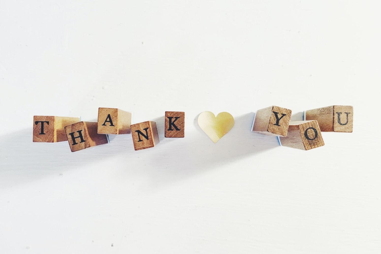 いつだって感謝を伝えたいんです