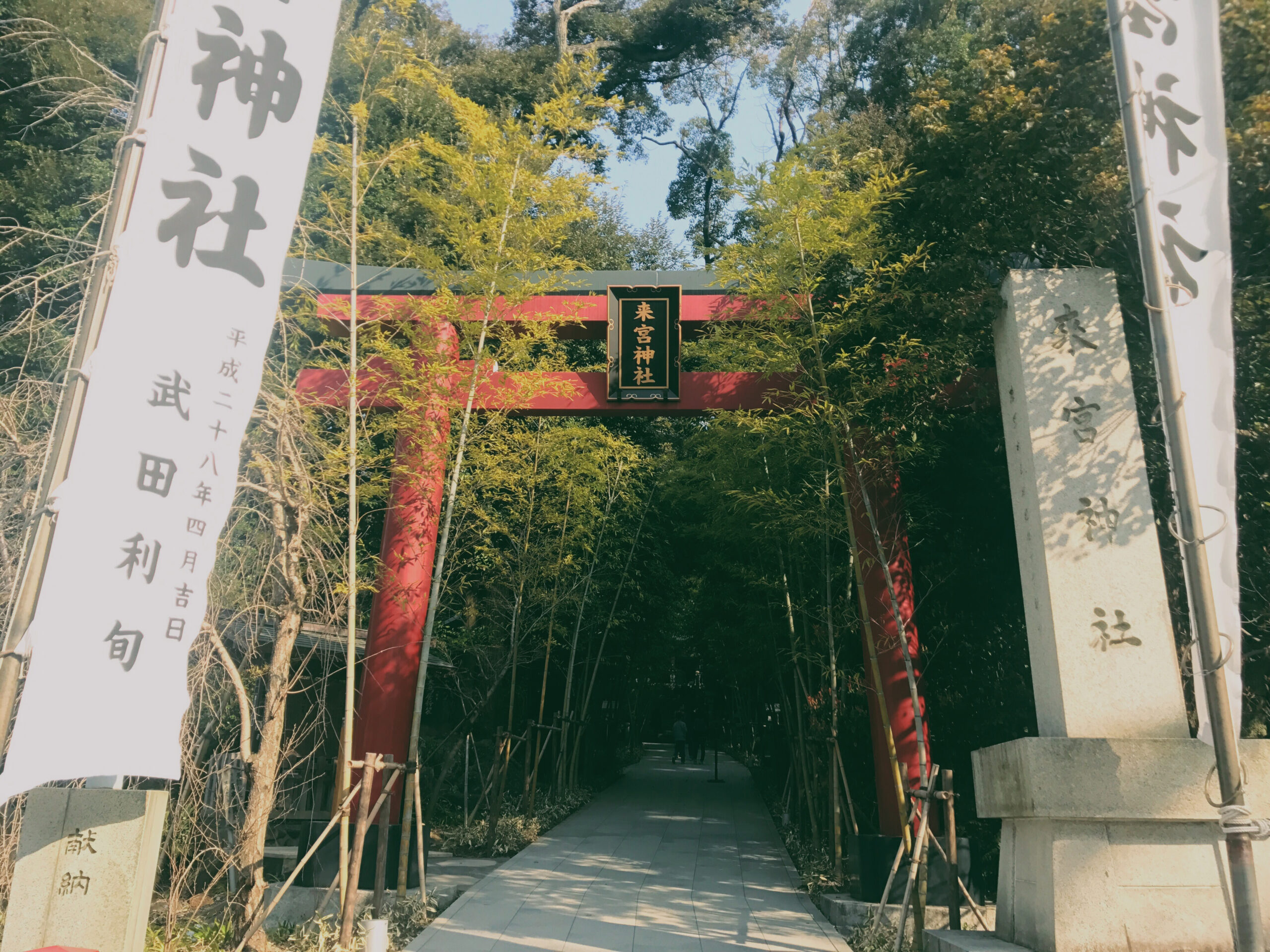 来宮神社(らいぐうじんじゃ)