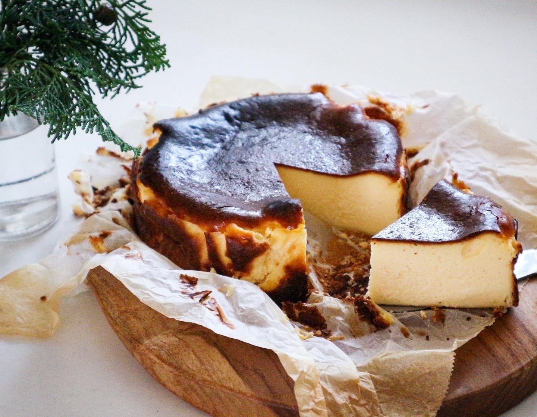 話題のバスクチーズケーキ