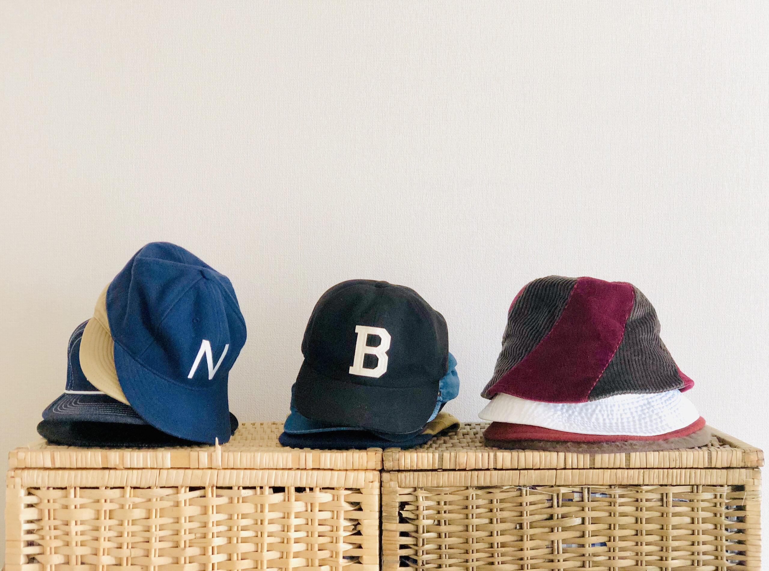 頭の形に合った帽子を選ぶ