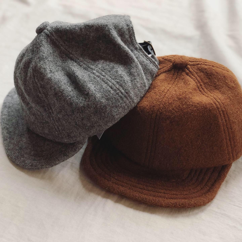 大きめサイズの帽子もあるんです