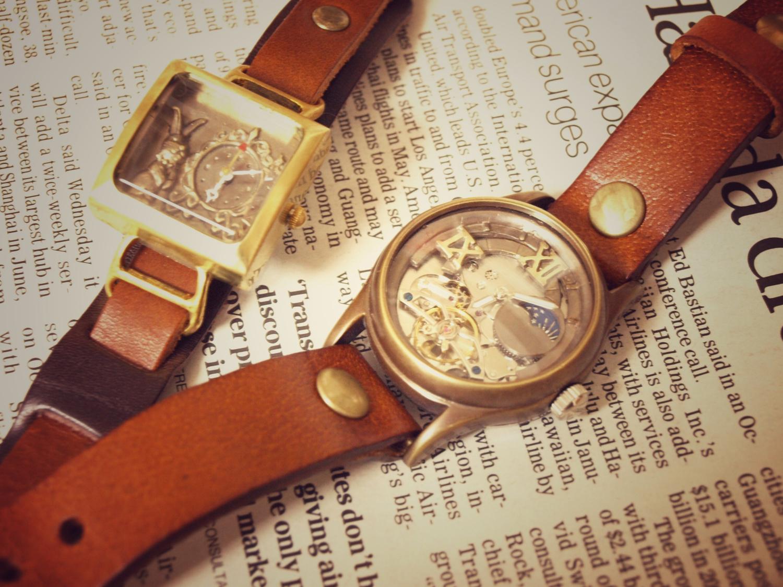 ロマン感じる腕時計たち