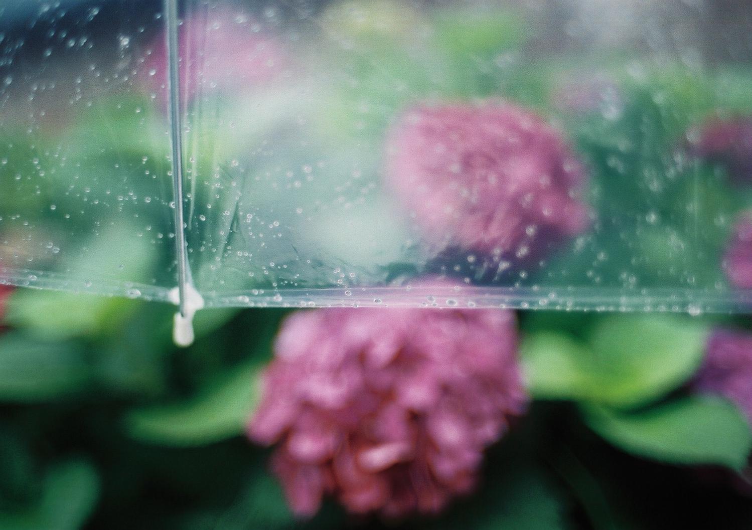 雨ネイルで梅雨もHAPPY