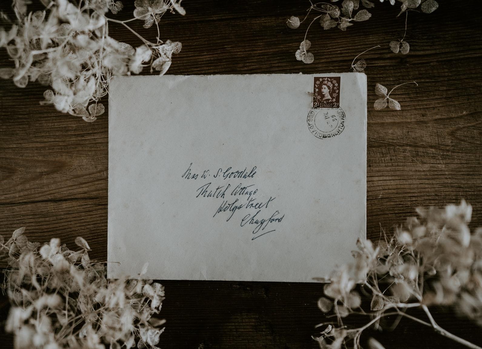 手紙を書いてみる