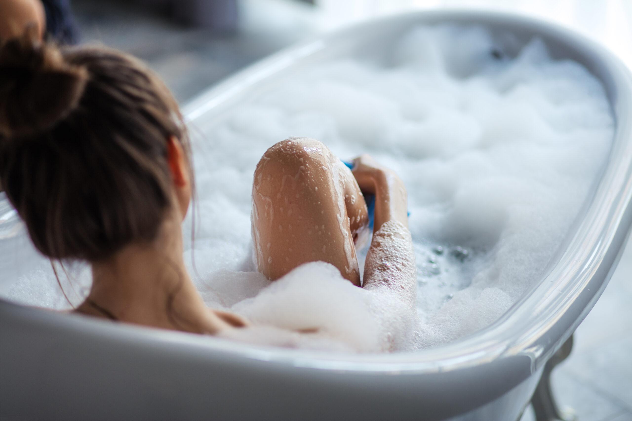 《22:00》お風呂で癒やされましょう