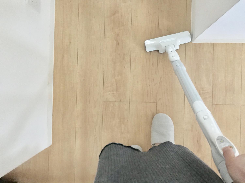 リビングのお掃除