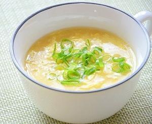 ☆減塩レシピ☆ 中華風コーンスープ