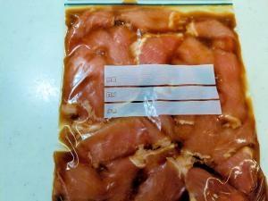 豚 生姜焼き 下味冷凍 作り置き