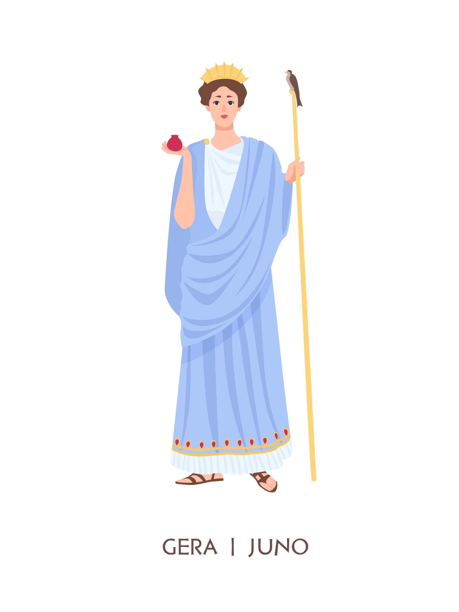 ギリシャ・ローマ神話の女神から