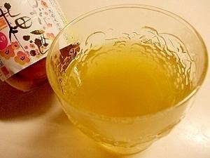 ハチミツ緑茶うめ~シュッ(蜂蜜緑茶梅酒)