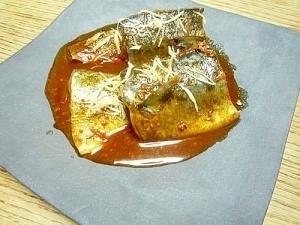 時短、家計にやさしい、鯖のピリ辛味噌煮