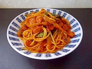 ナポリタン風スパゲティー