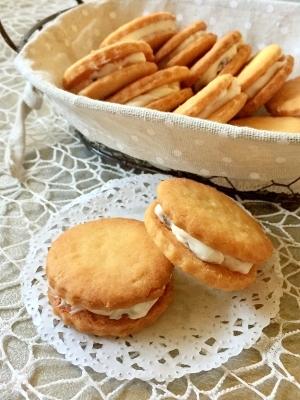 絶品♡レーズンバターサンドクッキー
