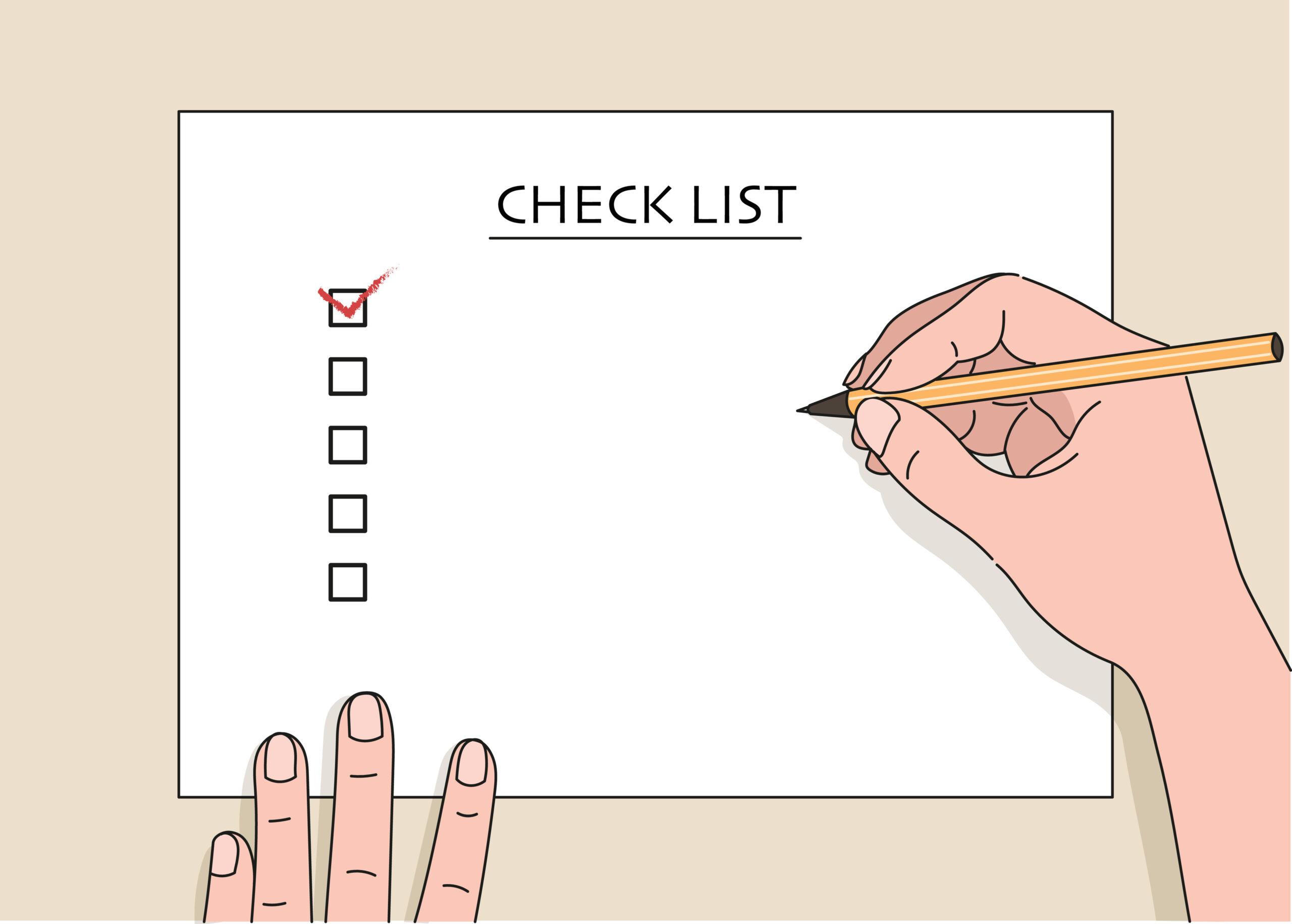 あなたはいくつできてる?言動チェックリスト