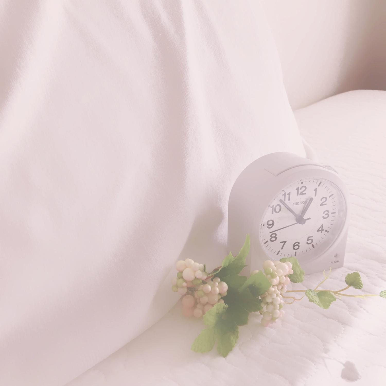 早めの睡眠を心がける