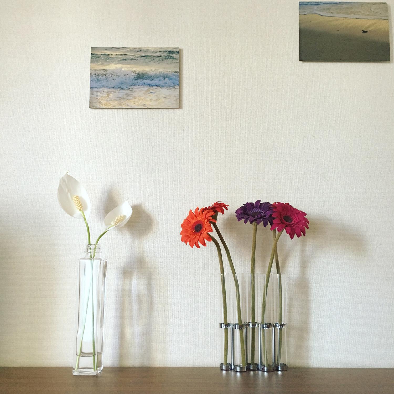 花と共にある生活