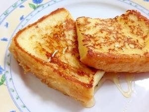 ふんわりしっとり☆基本のフレンチトースト