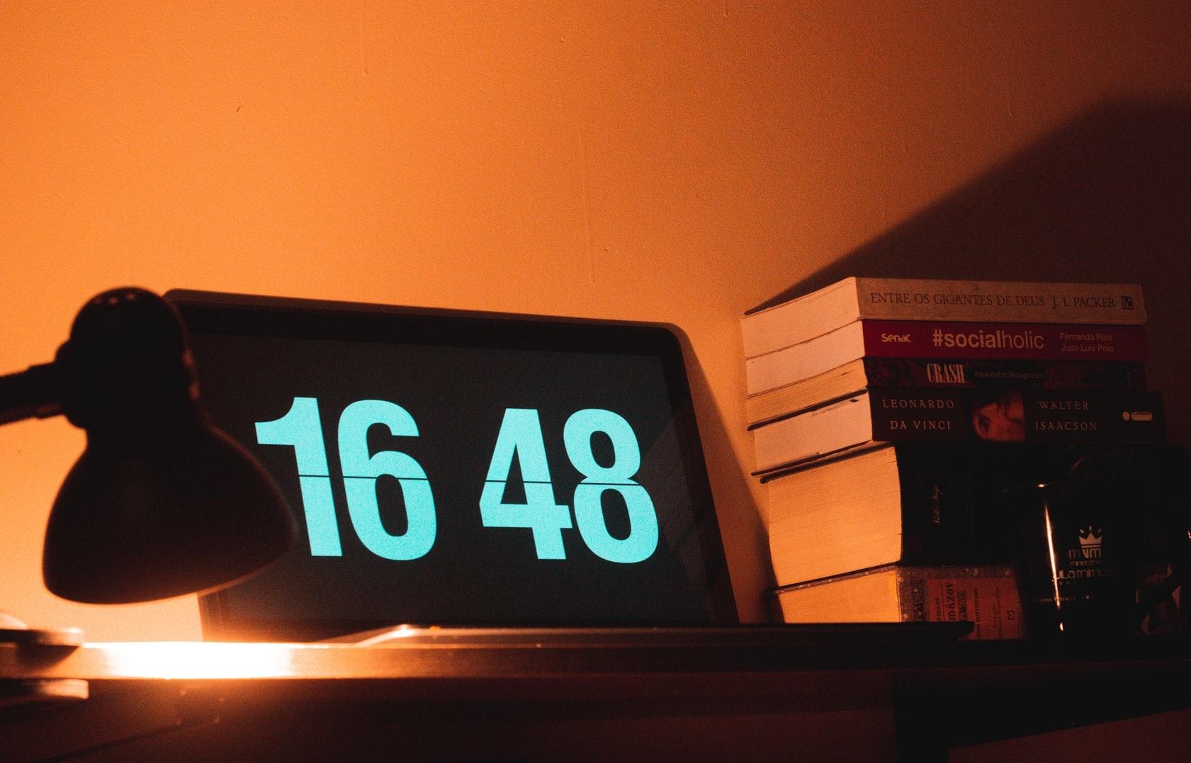 最近の流行りはデジタル時計