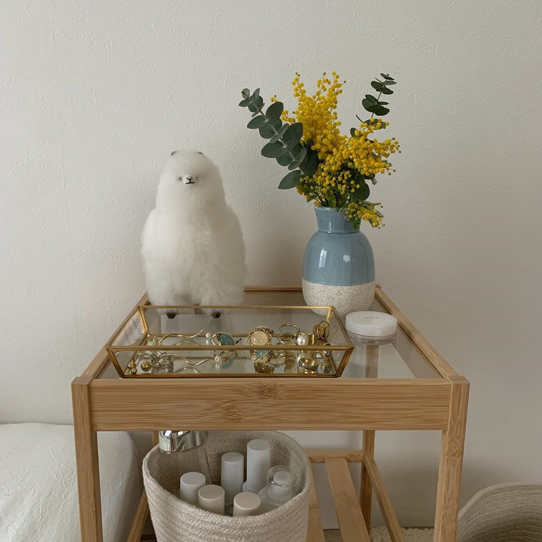お花を可愛くお家に飾りたいな