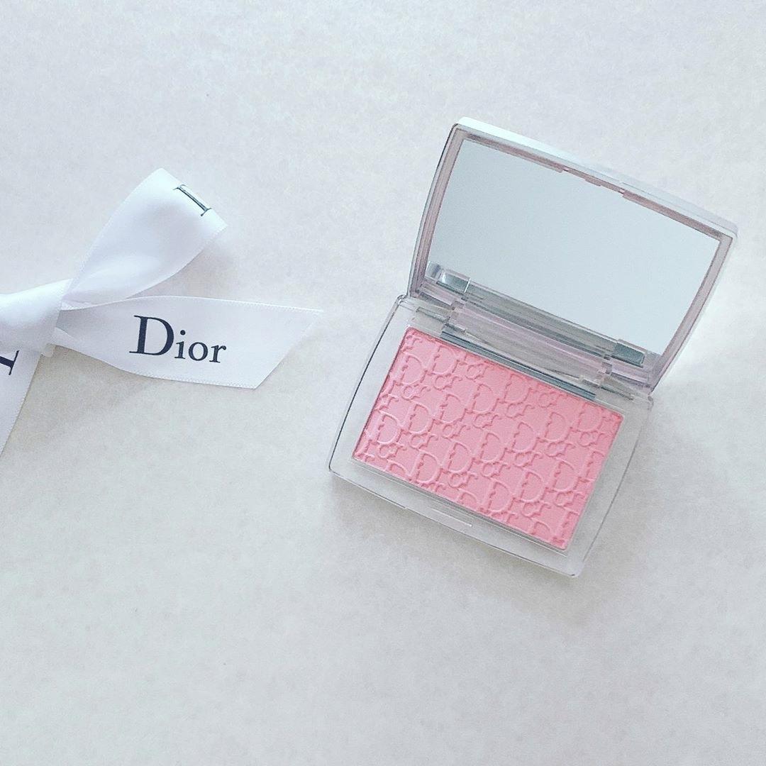 Dior|自分だけのピンク色で、あか抜け顔に