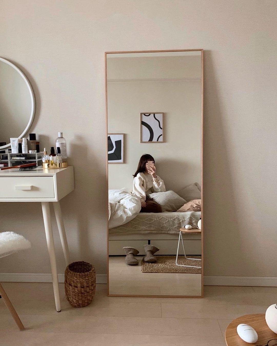 全身映る大きめ鏡