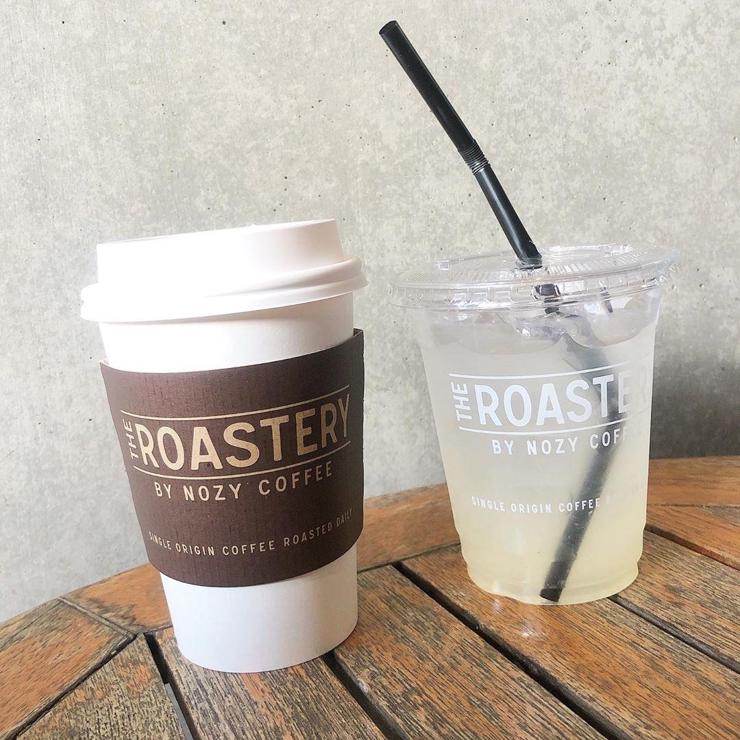 帰りはTHE  ROASTERY BY NOZY COFFEEへ