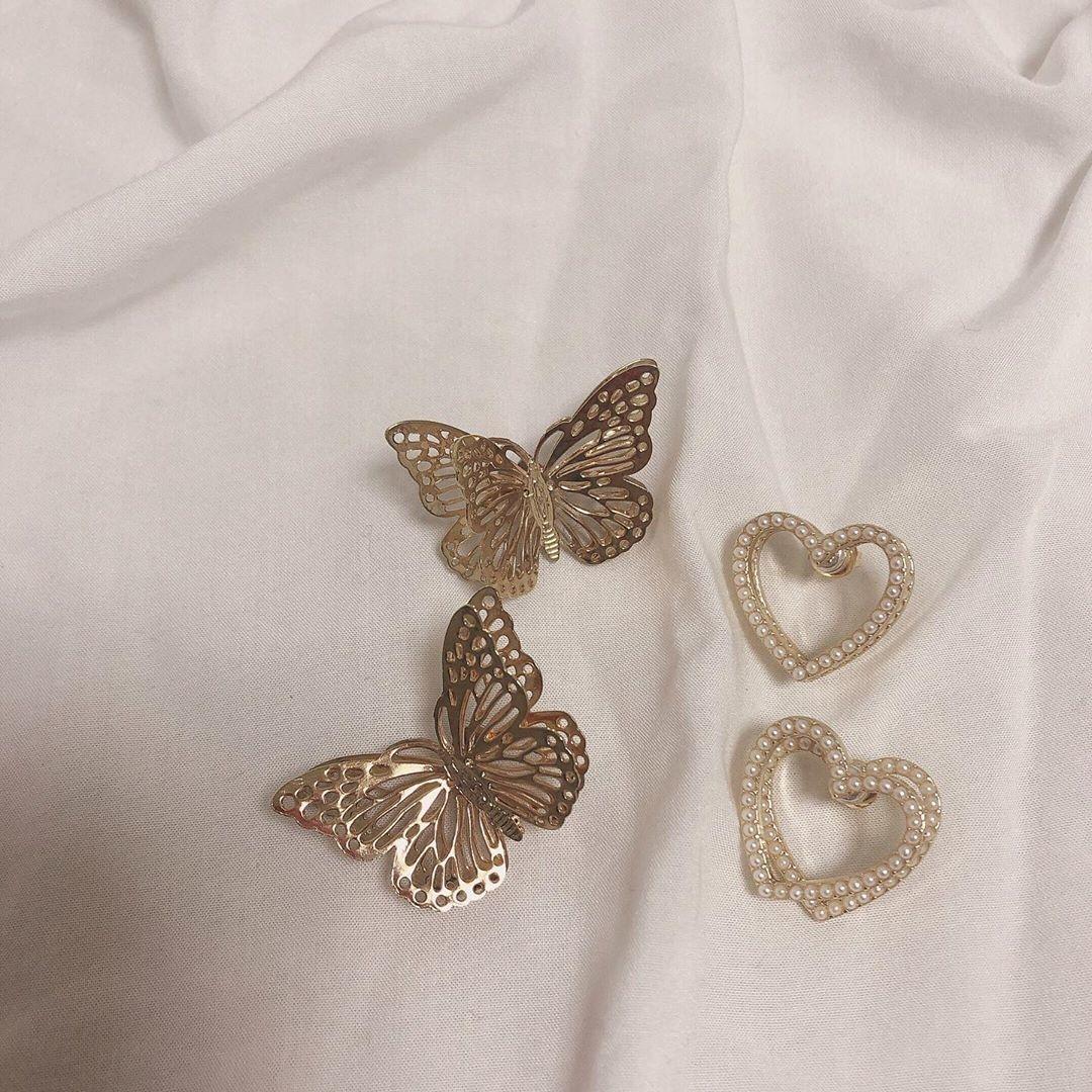 ♡蝶々に囲まれたプリンセスのように