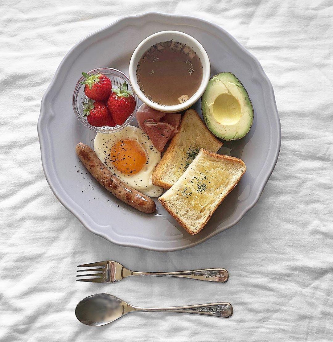 朝ごはんだってしっかり