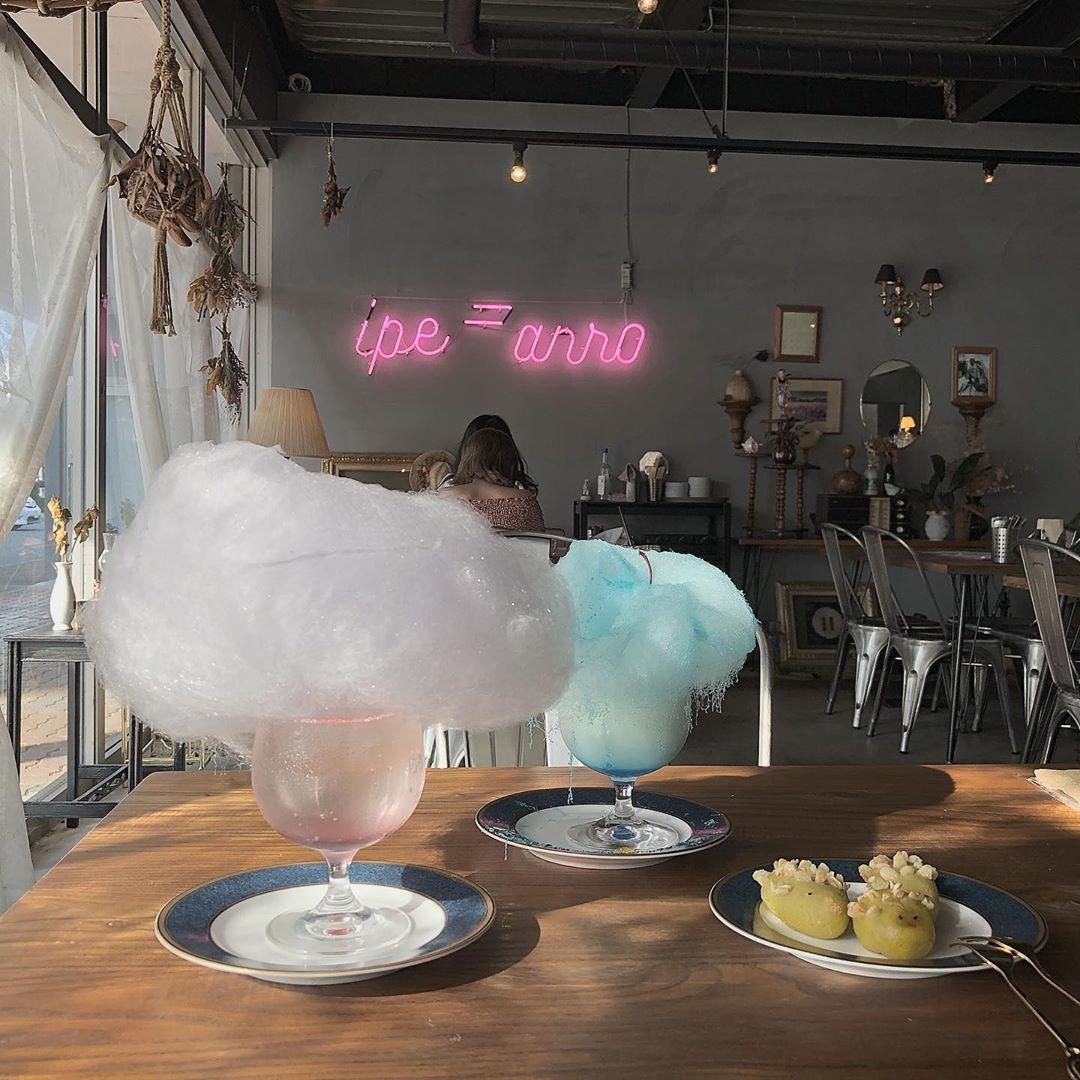 可愛すぎる綿飴が魅力のカフェ