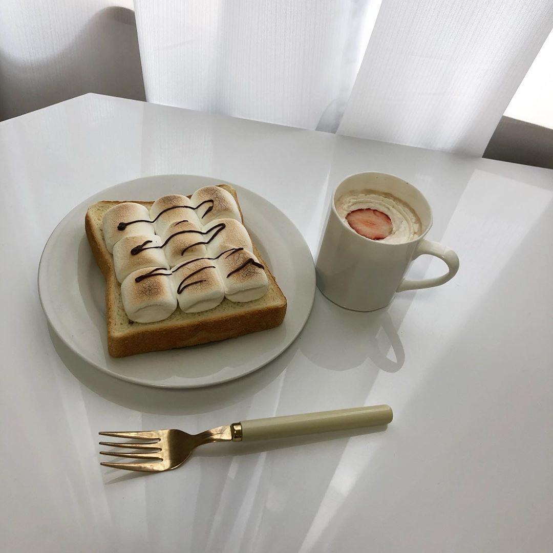 甘党さんにおすすめ マシュマロトースト